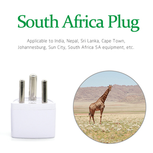 Image 4 - 1PC 3 pin Universal UK/US/EU/AU to Small South Africa India Travel Pulg Adaptor AC Power Multi Function Outlet Adapter Socket