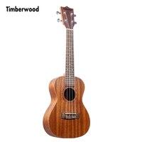 23 Inch Concert Ukulele Matte Finishing Solid Mahogany Plywood for Beginner Hawaii Guitar Mini Guitar Ukulele UK2354