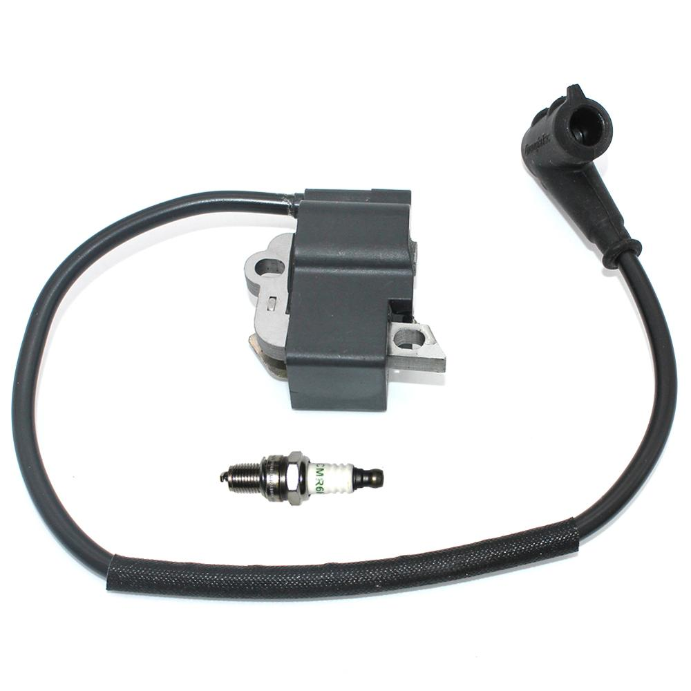 Tools : Ignition Coil Module with Spark Plug CMR6H for Stihl MS201 MS201T MS201C MS201 2-Mix Chainsaw 1145 400 4711 1145 400 1303 000