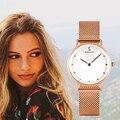 Часы женские BOBO BIRD женские роскошные кварцевые наручные часы из нержавеющей стали женские часы подарок на день рождения на годовщину
