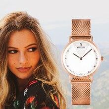 BOBO BIRD montre bracelet de luxe pour femmes, montre bracelet à Quartz en acier inoxydable, cadeau danniversaire