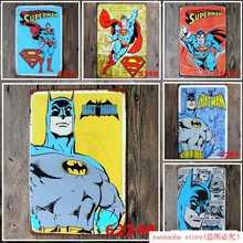 SPIDER Man Amazing Fantasy Marvel Comics artísticos imprimir cartel Vintage placa de la pared de estaño letrero metálico pintura estaño signo decoración de la pared tablero