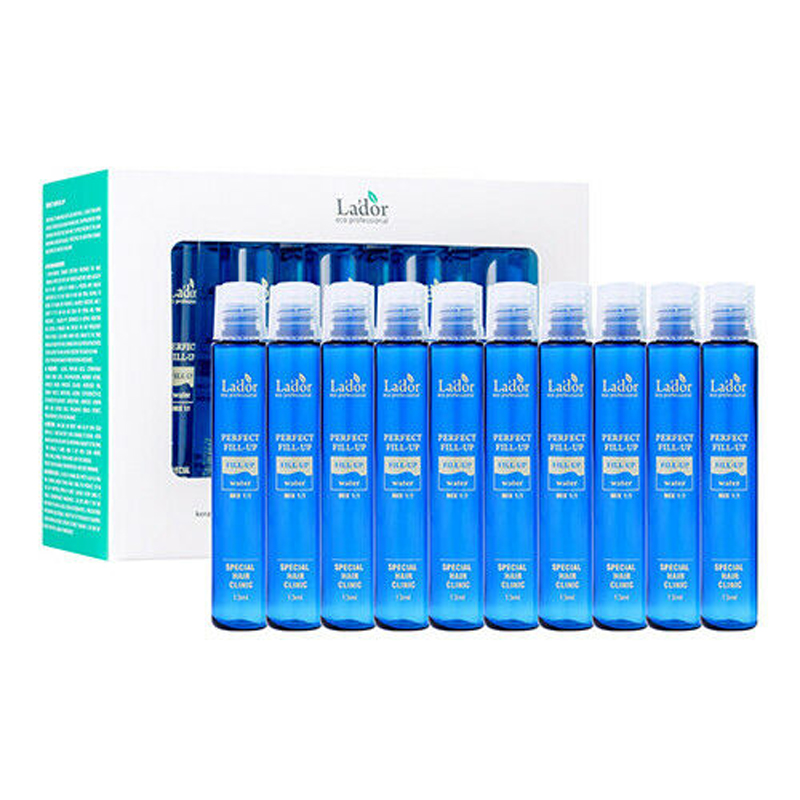 LADOR Perfect Hair Fill-up 10pcs Keratin treatment Care & Styling Smoothing Straightening Conditioner Mask