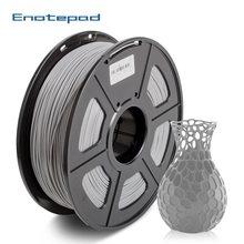 Enotepad-filamento PLA de 1,75mm para impresora 3D, material inofensivo de impresión 3D con tolerancia de 0,02mm
