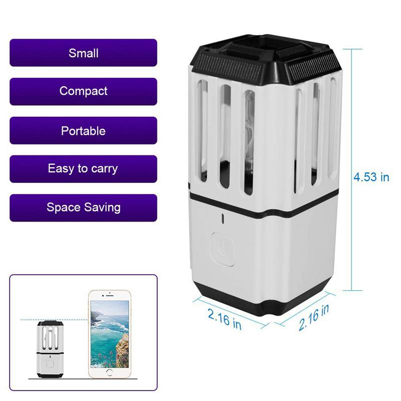 Uv Sterilizer Disinfection Lamp Uv Light Air Sanitizer Bacteria Germs Virus Dust Mite Eliminator Home Wardrobe Shoe Cabinet Toil in Air Purifiers from Home Appliances