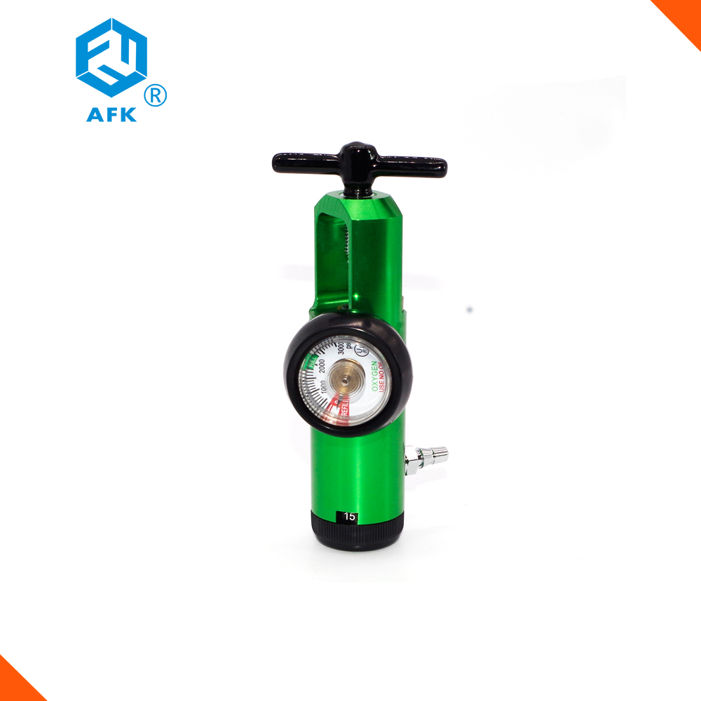 3000psi Medical Gas Oxygen Pressure Regulator CGA870 0-15L/min