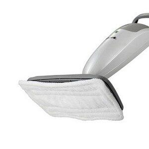 2 штуки упак. 28x16 см новые чистящие салфетки Сменные прокладки для акулы Паровая Швабра из микроволокна машинная стирка швабры белые