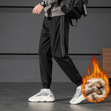 Trousers Drawers Pants Sportswear Clothing Mid-Waist Korean-Style Men Men's Winter Autumn