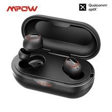 Mpow-Auriculares T5/M5 TWS inalámbricos con Bluetooth 5,0, dispositivo resistente al agua, IPX7, con autonomía de 42 horas, aptx para iPhone y Samsung