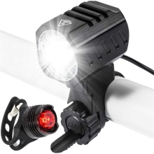 USB Rechargeable Bike Light 1200 Lumens Bike Headlight Bicycle Front Back Rear Taillight Waterproof Cycling Safety Warning Light