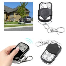Copy Code 4 Channel Universal Remote Control Cloning Duplicator Key Transmitter 433 MHz Learning Garage Door Gate Opener(China)