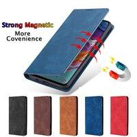 Etui z klapką ze skóry Etui na na telefony komórkowe Sony Xperia L1 L2 XA1 Plus X XA XZ2 XZ3 Ultre XZ XZ1 kompaktowy XZ2 Premium XZ3 Z5 Mini portfel pokrywa