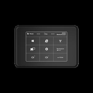 Image 1 - F11 dokunmatik panel dört çekirdekli Mini PC Intel Celeron J3455 Windows 10 4K HTPC 6GB LPDDR3L 128GB SSD Mini HD MI Dual Band WiFi BT