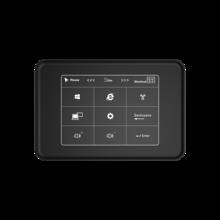 F11 painel de toque quad núcleos mini pc intel celeron j3455 windows 10 4k htpc 6gb lpddr3l 128gb ssd mini HD MI banda dupla wifi bt