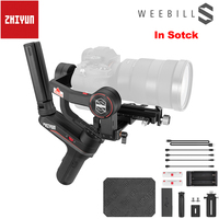 In Stock Zhiyun Weebill S Ultra Light 3 Axis Handheld Gimbal Stabilizer OLED Display for Sony A7M3 EOS R Z6 S1 Mirrorless Camera