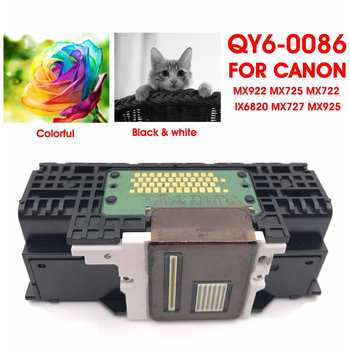 LEORY QY6 0086 głowica drukarki głowica drukująca głowica drukarki części do Canon MX922 MX725 MX722 IX6820 MX727 MX925 w Części drukarki od Komputer i biuro na