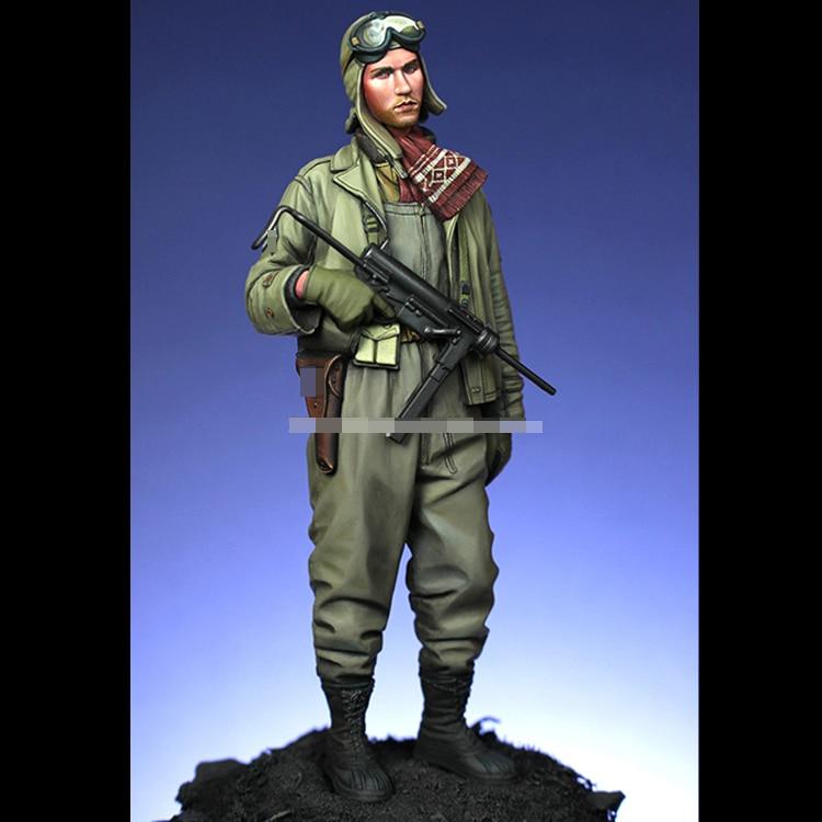 1/16 Resin Model Kit Figure Soldiers (Double  Head ) Unpainted