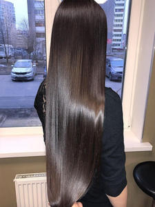 Hair-Extensions Tape-In 1b-2 18-Silky PU Leshine Natural Straight Straight