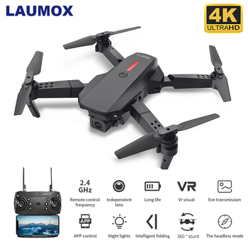 LAUMOX M73 Drone with Wifi FPV 480P 4K HD Dual Camera RC Quadcopter 15 minutes flight time Follow Me Mini Dron VS SG107 E58