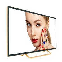 Televisor LED ultradelgado, pantalla de 60 pulgadas, sistema Android, vidrio templado