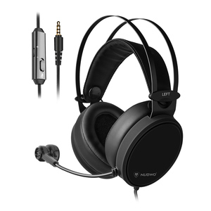 NUBWO N7 3.5mm Wired Gaming Headset Deep Bass Headphones On Ear Stereo Music Earphone w/ Mic for PS4 New Xbox One PC Smart Phone