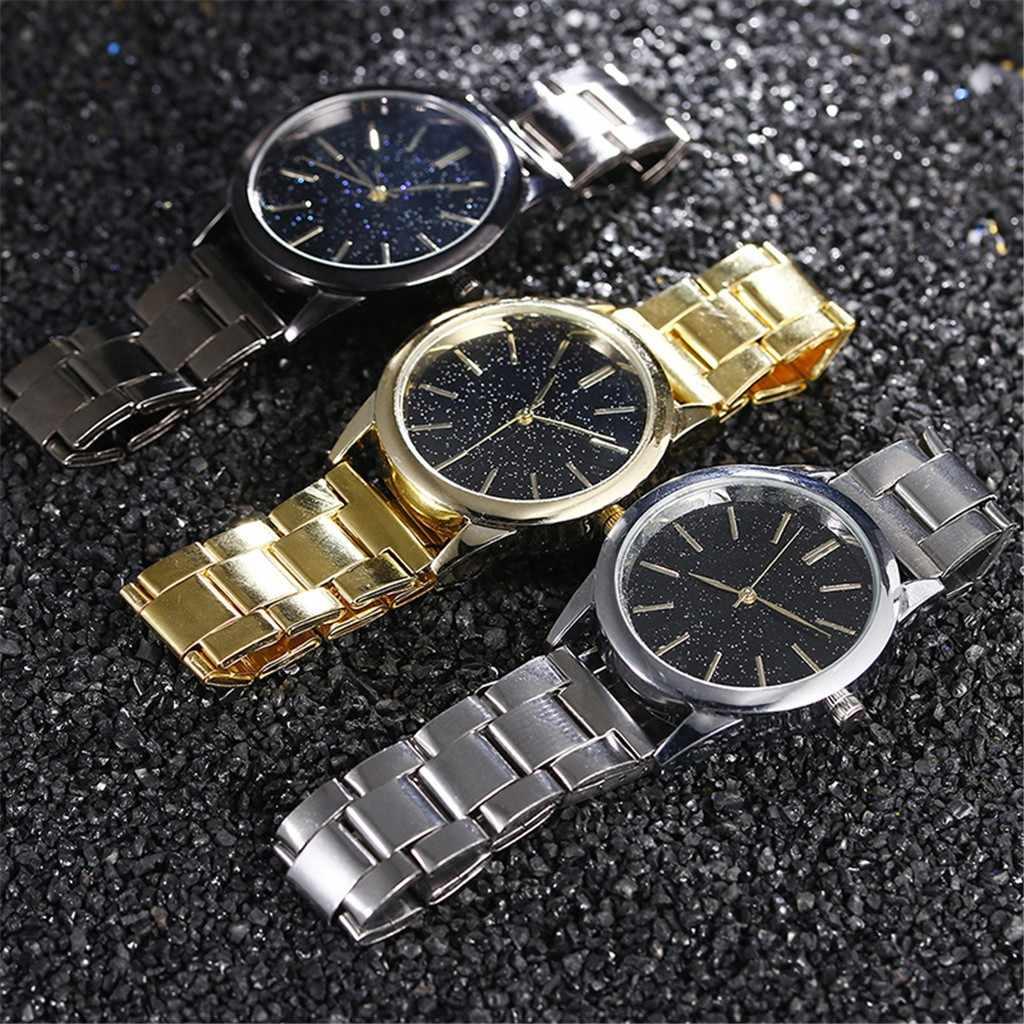 2020 MensนาฬิกาStarry SkyนาฬิกาสแตนเลสสตีลWild Gold Sliver Mensนาฬิกาธุรกิจชายนาฬิกาควอตซ์Relogio Masculino