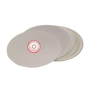 250 milímetros 10-polegada Lixar do Disco Da Roda de Moedura do Diamante Revestido Disco Colo Plana