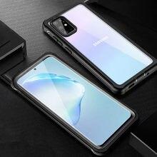 Coque de téléphone Samsung, couverture complète en TPU, antichoc, 360 °, avec verre trempé, pour Galaxy S10, Note 10 Plus, 5g, S20 FE