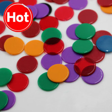 100 шт./компл. 4 цвета 19 мм креативный подарок аксессуары пластиковые покерные фишки казино маркеры бинго маркер весело Семья клуб игра игрушка