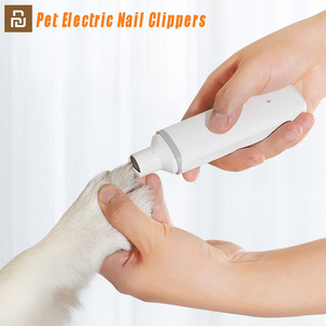 Image 1 - YouPin pawbby cortauñas eléctrico recargable con USB para mascotas, cuidado de mascotas saludable, 2020