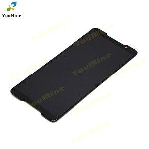 Image 4 - Para asus rog telefone zs600kl display lcd tela e painel de toque digitador para asus zs600kl montagem lcd reparos