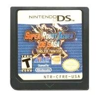 DS jeu cartouche Console carte Super Robot Taisen et Saga sans fin Frontie USA Version langue anglaise pour Nintendo DS 3DS 2DS