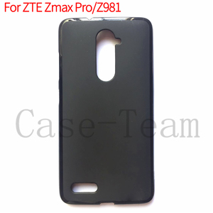 frosted Soft TPU cell Phone Case for ZTE Zmax Pro , transparent Pudding case for ZTE Z981 cover,mix models accept