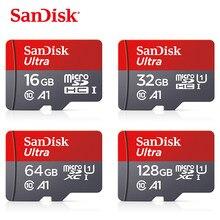 Cartão de memória de sandisk a1 256gb 200gb 128gb 64gb 98 mb/s 32gb 16gb micro cartão sd class10 UHS-1 cartão flash memória microsd tf/cartão sd