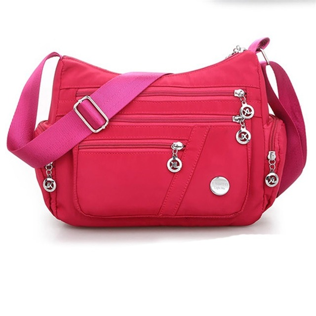 New Casual Crossbody Shoulder Bag Women Bag Nylon Waterproof Messenger Bags For Lady Handbags High Quality Multifunctional 5