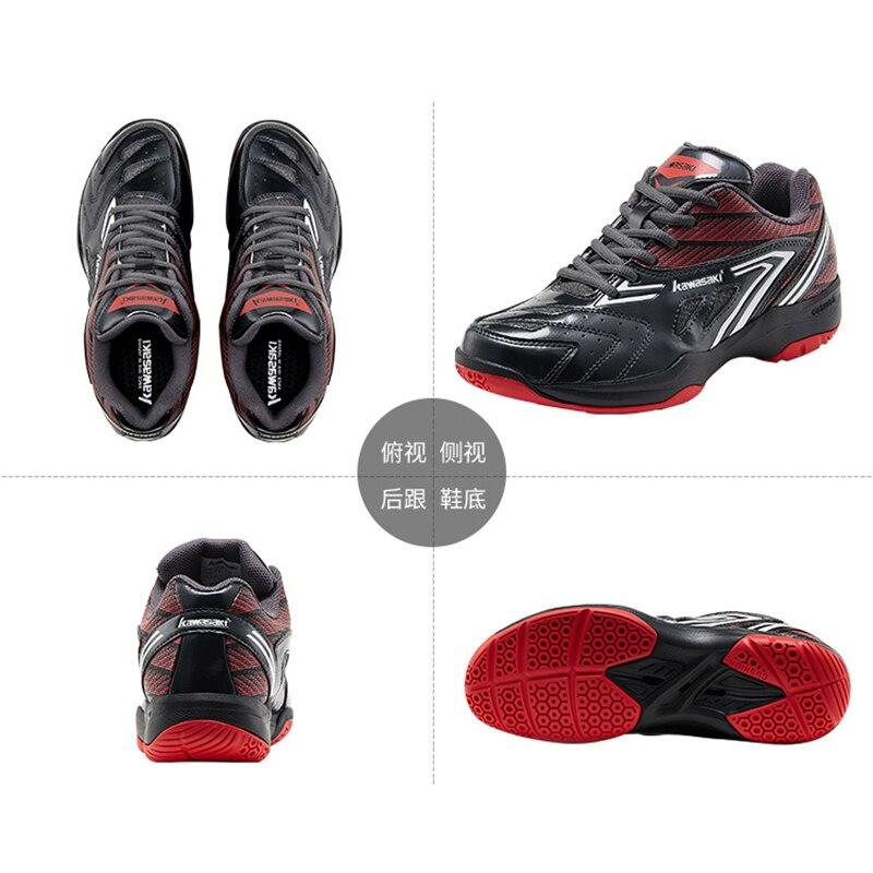 Бадминтонные туфли Kawasaki 2020, дышащие нескользящие спортивные туфли для мужчин и женщин, технические кроссовки-3