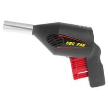 Ручной вентилятор для барбекю, воздуходувка для барбекю, инструменты для прессования огненных сильфонов, портативный пистолет