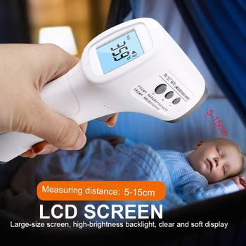 Non-contact Professional Digital Infrared Thermometer Temperature Meter Instrument IR LCD Display Laser infrarojo Thermometer цена 2017