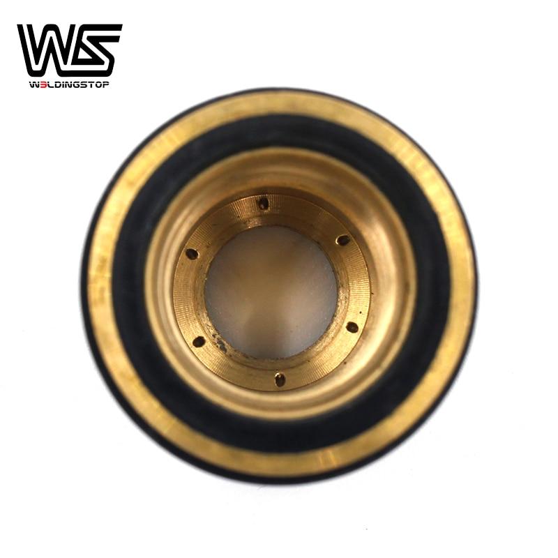 home improvement : PC0116 Shield Cup Out Nozzle Fit PT60 IPT-60 PT40 IPT-40 Trafimet Ergocut S25K-S25 S30 S45 Plasma Cutter TorchPKG 2