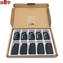 10 sztuk angielska wersja Xhorse VVDI2 przewód uniwersalny zdalne klucze do samochodu 2/3 przyciski dla Toyota VVDI MINI kluczyk narzędzie MAX programista