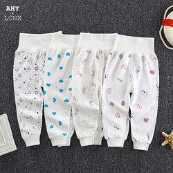 Pantalon pour nouveau-né fille et garçon, Leggings taille haute, vêtements en coton, pantalons en PP pour enfants, automne et printemps, 2020