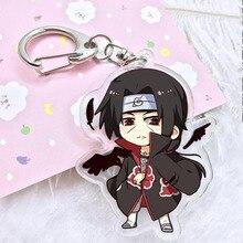 Cartoon acrylic Keychain pendant double Naruto Naruto Sasuke Kakashi Comiket wholesale