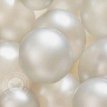 20 pçs/set Ouro Branco Balões Tema Do Partido Decoração Guirlanda Havaiano Ballon Balão De Látex Terno do Menino Decoração de Aniversário de Casamento Brinquedo
