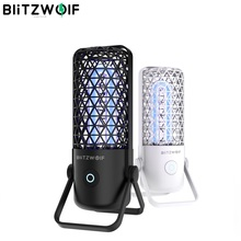 BlitzWolf BW-FUN4 UV Sterilizing lamp Portable 99.99% Sterilization Rate UV Lamp Ozone 360° Disinfection UV Sterilizer Lamp