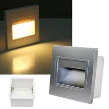 Light-Sensor Motion-Detector Ressessed Step-Stairway-Lamp LED in 8 86-Type