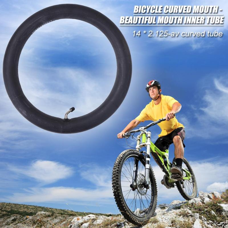 Bicycle Tyre Inner Tube Nozzle 26x1.95//2.125 Butyl Rubber For MTB Mountain Bike