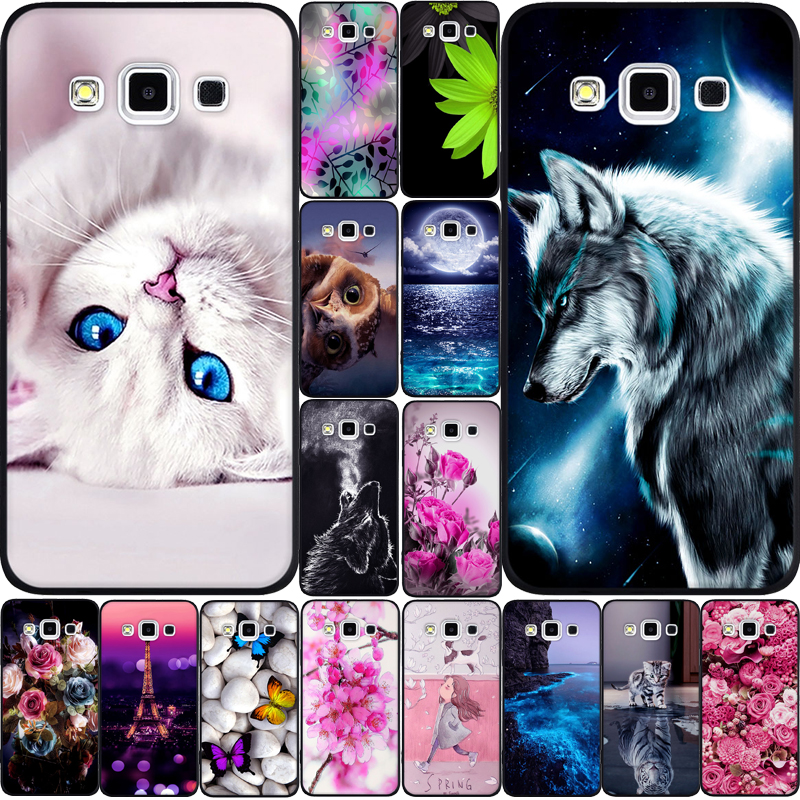 For Samsung <font><b>Galaxy</b></font> A3 2015 A300 A5 2015 A500 Case TPU Cover for Samsung Note <font><b>8</b></font> N950 <font><b>Galaxy</b></font> S5 A8 <font><b>2018</b></font> Plus A530 Case Cover Funda image