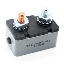 50A yüksek kaliteli manuel sıfırlama devre kesici AMP 12-28V devre kesici çift pil sigorta dayanıklı otomatik sıfırlama kesici aksesuar