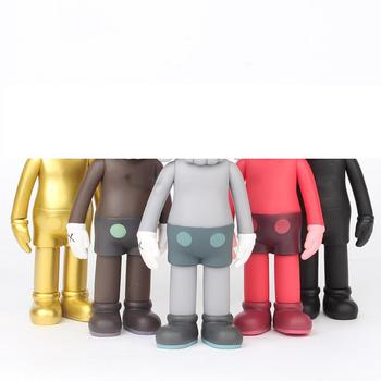 8 Inch 20cm Hot Sale PVC Bear Doll Bricklys Block Action Figures Collection Model Toys Collectable Decoration