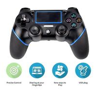 Wireless Controller for Playstation 4 PS4 Controller Bluetooth Gamepad DualShock Vibration Game Pad Joystick for PS4 Console